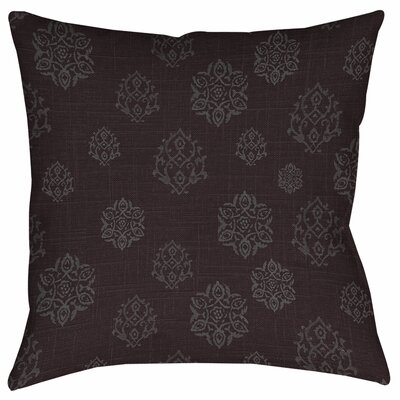 Flowing Medallion Printed Throw Pillow Size: 16 H x 16 W x 4 D