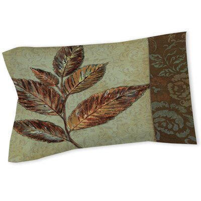 Golden Leaf 1 Sham Size: Queen/King