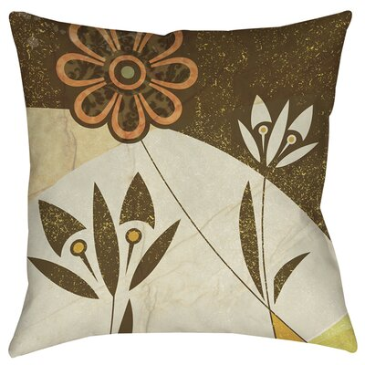 Graphic Garden Savannah Printed Throw Pillow Size: 14 H x 14 W x 3 D
