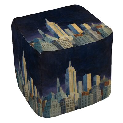 Midnight in Midtown Pouf
