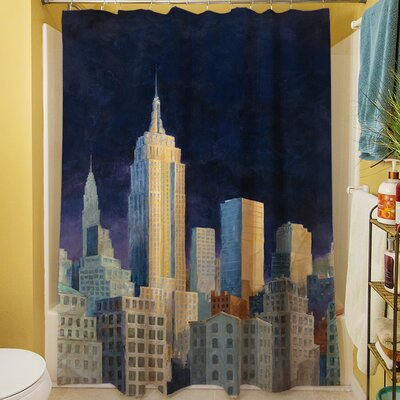 Midnight in Midtown Shower Curtain
