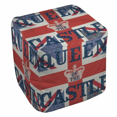 My Queen Castle Square Pouf