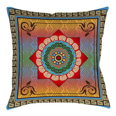 Mexican Summer Printed Throw Pillow Size: 26 H x 26 W x 7 D