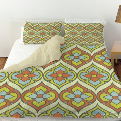 Napoli November 103 Duvet Cover Size: King