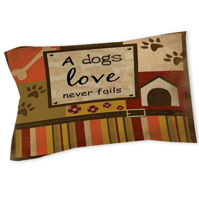 Love Never Fails Sham Size: Twin