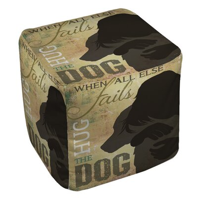 Hug the Dog Pouf
