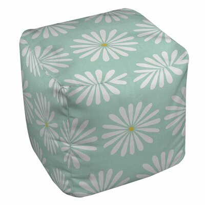 Jar of Sunshine Vintage Daisy Pouf