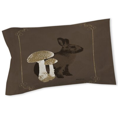 Luxury Lodge Rabbit Sham Size: Queen/King