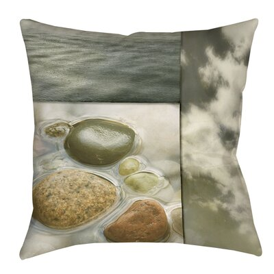 Natural Element Indoor/Outdoor Throw Pillow Size: 16 H x 16 W x 4 D