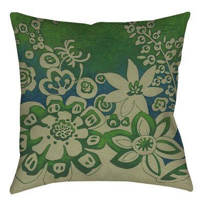 Kyoto Garden 2 Printed Throw Pillow Size: 16 H x 16 W x 4 D