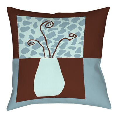 Minimalist Flowers 3 Printed Throw Pillow Size: 26 H x 26 W x 7 D