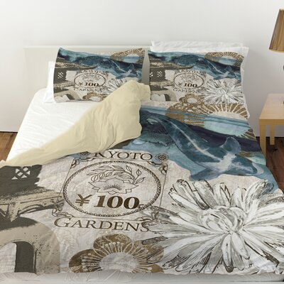 Meditation Gardens 2 Duvet Cover Size: Twin
