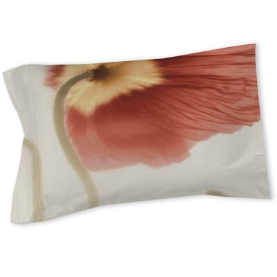 Mystic Poppy 2 Sham Size: Queen/King