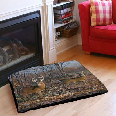 Lovers Lane Indoor/Outdoor Pet Bed Size: 50 L x 40 W