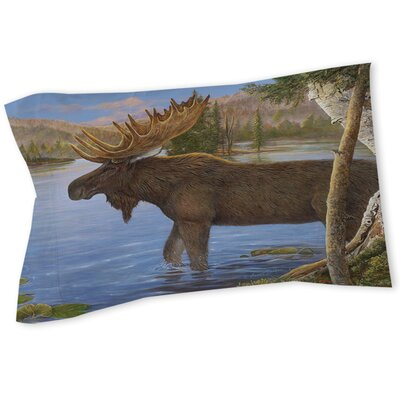 Majestic Moose Sham Size: Twin
