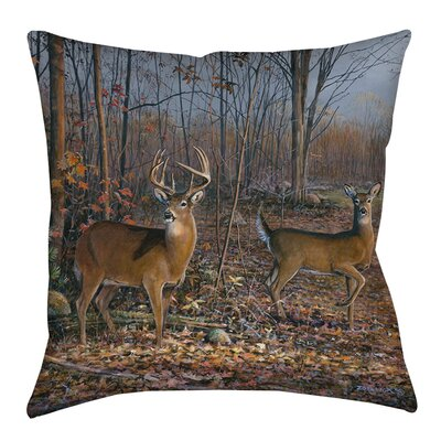 Lovers Lane Indoor/Outdoor Throw Pillow Size: 20 H x 20 W x 5 D