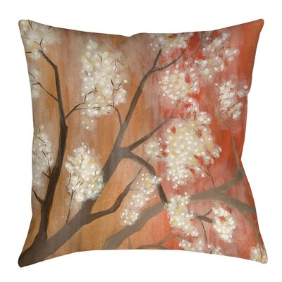 Mandarin Mist Indoor/Outdoor Throw Pillow Size: 16 H x 16 W x 4 D