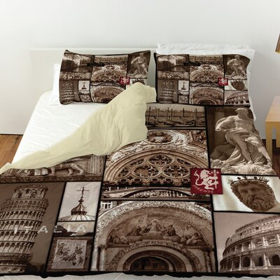 Italy Duvet Cover Size: King