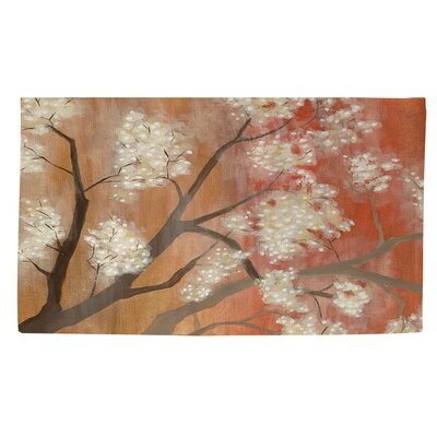 Mandarin Mist 1 Orange Area Rug Rug size: 4 x 6