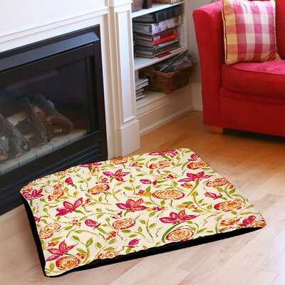 Julias Fancy Indoor/Outdoor Pet Bed Size: 50 L x 40 W
