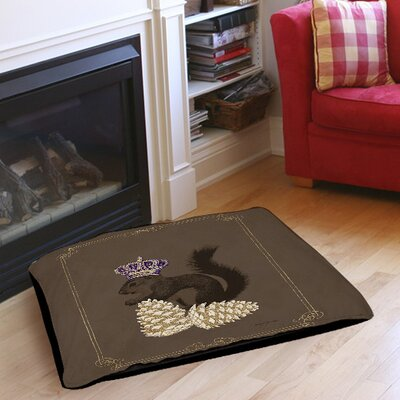 Luxury Lodge Squirrel Indoor/Outdoor Pet Bed Size: 50 L x 40 W