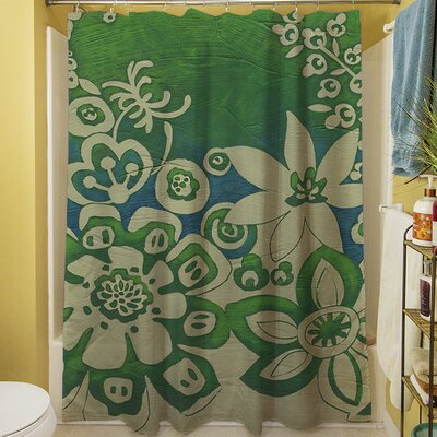Kyoto Garden II Shower Curtain