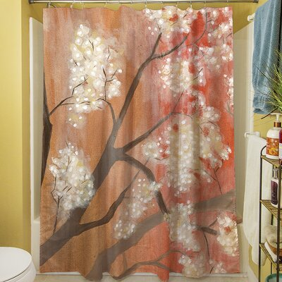 Mandarin Mist I Shower Curtain
