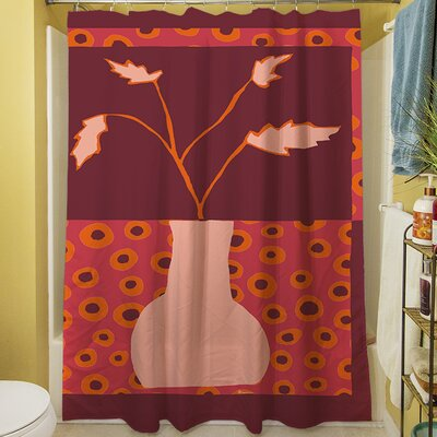 Minimalist Flowers II Shower Curtain