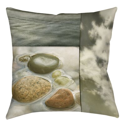 Natural Elements 3 Printed Throw Pillow Size: 16 H x 16 W x 4 D