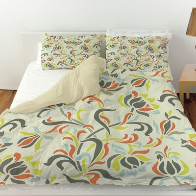 Napoli November 100 Duvet Cover Size: Queen