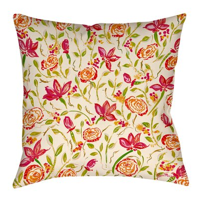 Julias Fancy Indoor/Outdoor Throw Pillow Size: 16 H x 16 W x 4 D