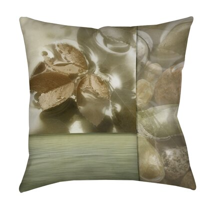Natural Elements 1 Indoor/Outdoor Throw Pillow Size: 16 H x 16 W x 4 D