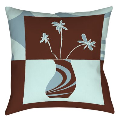 Minimalist Flowers 4 Printed Throw Pillow Size: 26 H x 26 W x 7 D