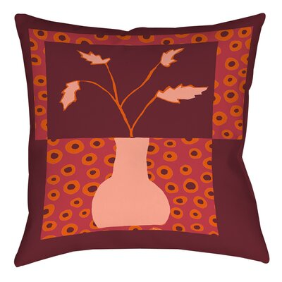Minimalist Flowers 2 Printed Throw Pillow Size: 16 H x 16 W x 4 D