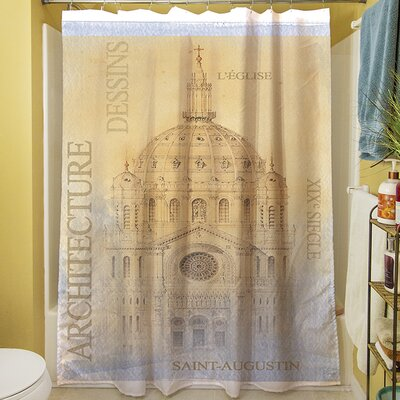 LEglise Shower Curtain