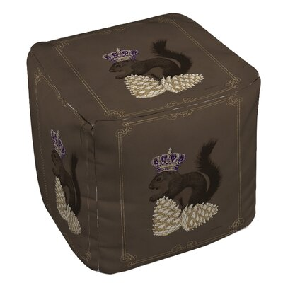 Luxury Lodge Squirrel Pouf