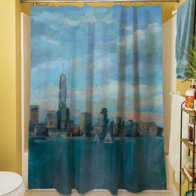 Manhattan Tower of Hope Shower Curtain