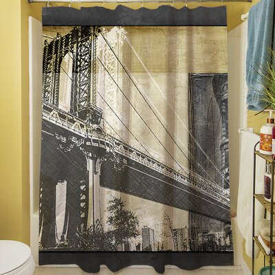 Metropolitan Collage II Shower Curtain