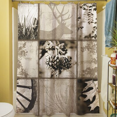 Mountain Retreat I Shower Curtain