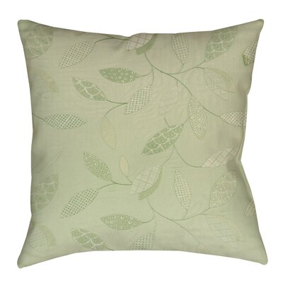 Wasinger Indoor/Outdoor Throw Pillow Size: 16 H x 16 W x 4 D, Color: Mint