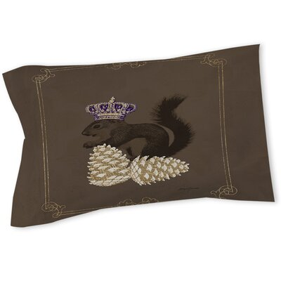 Luxury Lodge Squirrel Sham Size: Queen/King