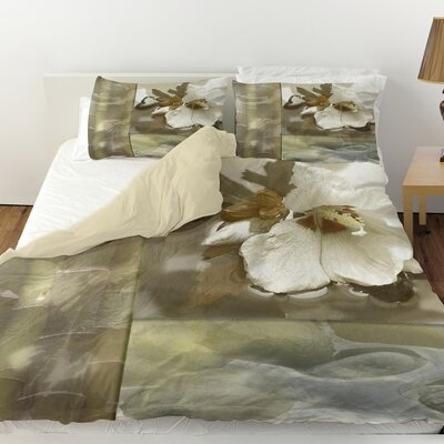 Natural Elements 2 Duvet Cover Size: Twin