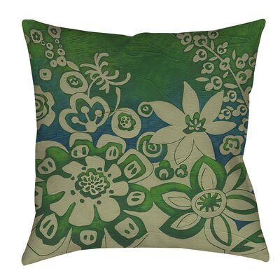 Kyoto Garden 2 Indoor/Outdoor Throw Pillow Size: 16 H x 16 W x 4 D