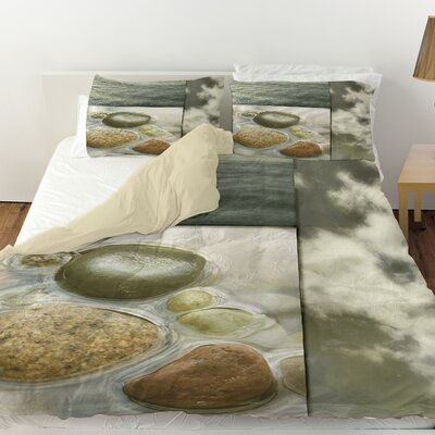 Natural Elements 3 Duvet Cover Size: Twin