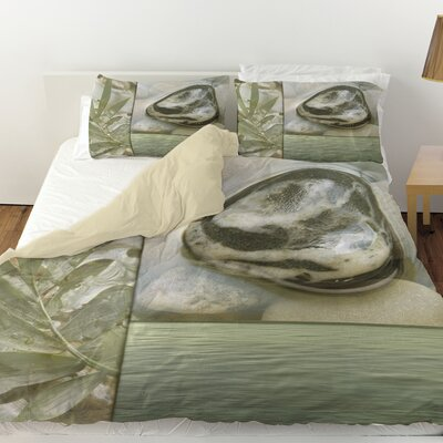 Natural Elements 4 Duvet Cover Size: Twin