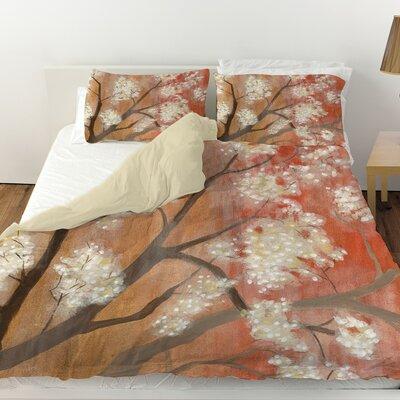 Mandarin Mist 1 Duvet Cover Size: Twin