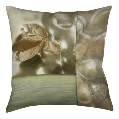 Natural Elements 1 Printed Throw Pillow Size: 16 H x 16 W x 4 D