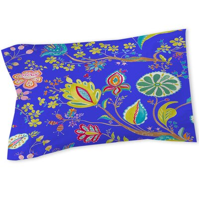 La Roque Summer Floral Sham Size: Queen/King