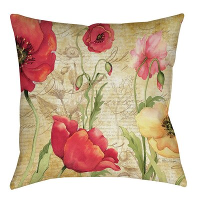 Manuela Indoor/OutdoorThrow Pillow Size: 16 H x 16 W x 4 D