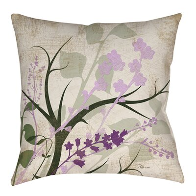 Lois Indoor/Outdoor Throw Pillow Size: 16 H x 16 W x 4 D